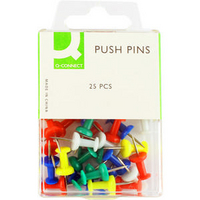 Q-Connect Push Pin Pk250 KF02029Q