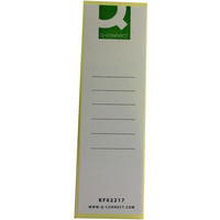 Q-Connect Lever Arch File Spine Label Pk10 KF02217