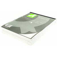 Q-Connect Refill Pad A4 Quadrille Ruled Punched 2-Hole Head Bound 80 Leaf